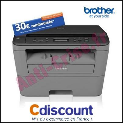 Offre de Remboursement Brother : 30 € sur Imprimante Multifonction 3 en 1 - anti-crise.fr