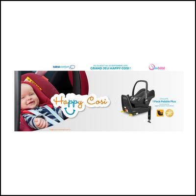 Tirage au sort bébé confort : Siège auto à gagner !  anti-crise.fr