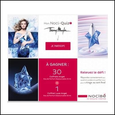 Tirage au sort Facebook Nocibe : 30 Coffrets Angel à gagner ! anti-crise.fr