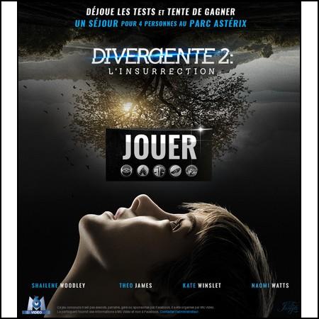 Tirage au sort Facebook Divergente : 1 week-end pour 4 personnes au Parc Astérix à gagner !