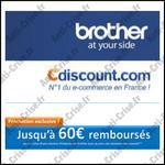 Offre de Remboursement Cdiscount / Brother : 60 € sur Imprimantes Jet d'Encre ou Laser - anti-crise.fr