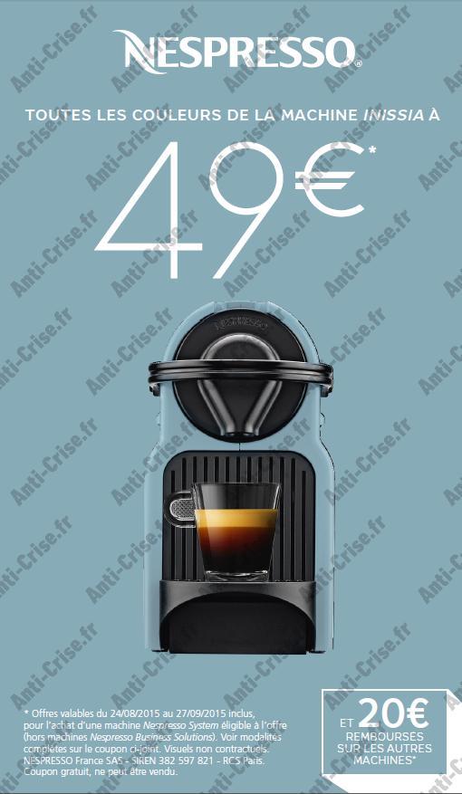 Nespresso modalités 1