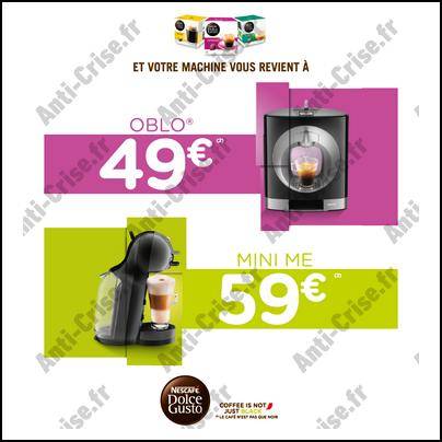 Offre de Remboursement Tassimo : Oblo à 49 € et Mini Me à 59 € - anti-crise.fr