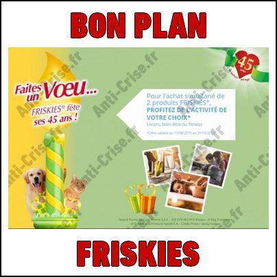 Bon Plan Friskies : Activité Bien-être Fitness ou Loisirs Offerte - anti-crise.fr