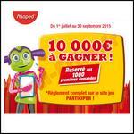 Offre de Remboursement Maped : 10 € en Bons de Réduction - anti-crise.fr