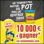 Instants Gagnants Play-Doh : Carnet de Chèques Cadeaux de 200 € à Gagner - anti-crise.fr
