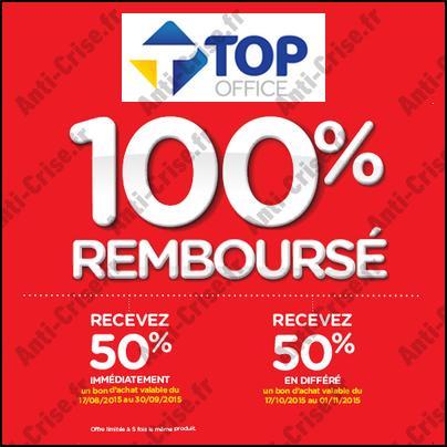 Bon Plan Top Office : Fournitures Scolaires 100% Remboursées en 2 Bons - anti-crise.fr