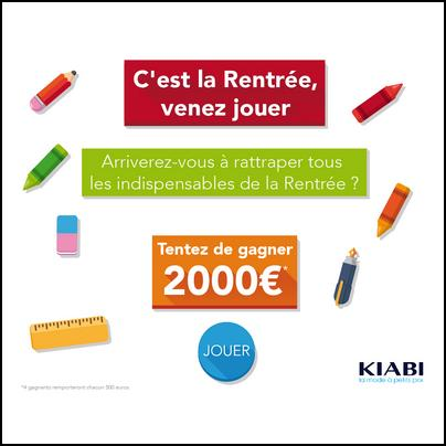 Tirage au Sort Kiabi : Bon d'Achat de 500 € à Gagner - anti-crise.fr