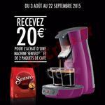 Offre de Remboursement Philips : 20 € sur Machine à Café Senseo® - anti-crise.fr