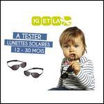 Test de Produit Conso Baby : Lunettes de soleil Jokaki de Ki ET LA - anti-crise.fr