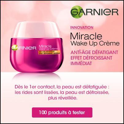 Test de Produit Beauté Test : Miracle Wake Up Crème de Garnier - anti-crise.fr