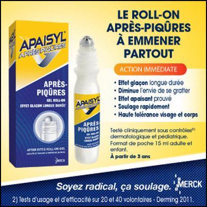 Test de Produit Betrousse : Apaisyl® Après-piqûres Roll-on - anti-crise.fr