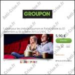Bon Plan Groupon : Place de Cinéma pour Gaumont et Pathé à 5,90 € - anti-crise.fr