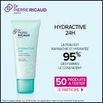 Test de Produit Beauté Test : Crème Sorbet Hydra Cellulaire - Hydractive 24H de Dr Pierre Ricaud - anti-crise.fr