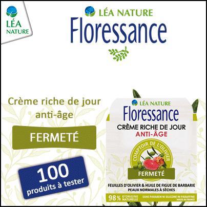 Test de Produit Beauté Test : Crème Riche de Jour Anti-âge - Comptoir de l'Olivier de Floressance - anti-crise.fr