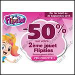 Offre de Remboursement Vtech : 50 % sur votre 2ème Jouet Flipsies - anti-crise.fr