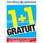 Catalogue Carrefour du 11 au 17 aout