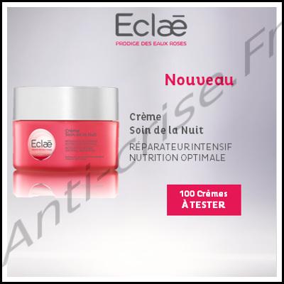 Test de Produit Beauté-Test : Crème soin de la nuit Eclaé - anti-crise.fr
