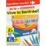 Catalogue carrefour Market du 18 août au 6 septembre