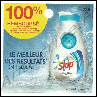 Offre de Remboursement : Skip Ultimate  100 % Remboursé en 1 Bon - anti-crise.fr