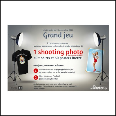 Tirage au sort La Bretzel : Shooting photo à gagner ! anti-crise.fr