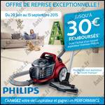 Offre de Remboursement Philips : 30 € sur Aspirateur Traîneau - anti-crise.fr