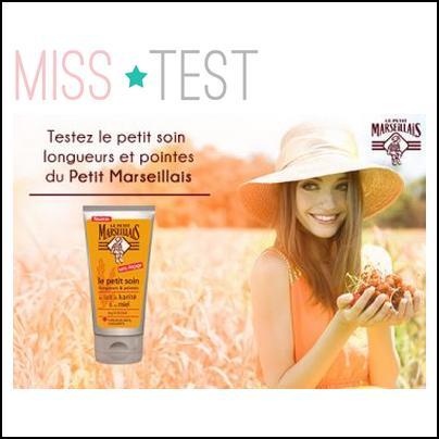 Test de produit Miss Test : Le petit soin longueurs & pointes Le Petit Marseillais - anti-crise.fr