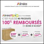Bon Plan Alinéa : 40 Produits 100 % Remboursés en Bons - anti-crise.fr