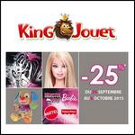 King Jouet : - 25 % sur Barbie, Monster High et Fisher Price - anti-crise.fr