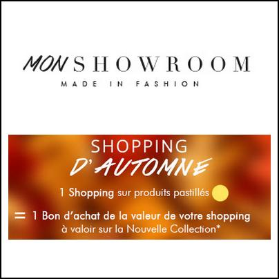 Mon Showroom : Votre commande Remboursée en Bon d'achat - anti-crise.fr