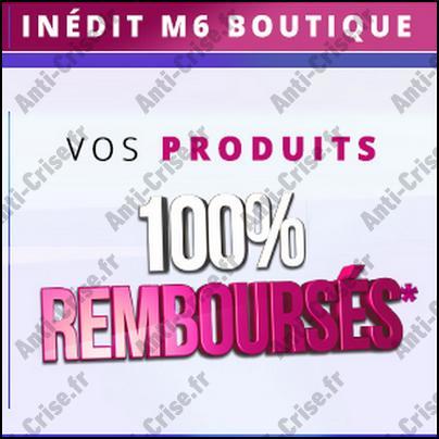 bijoux m6 boutique 100 remboursé
