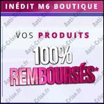Offre de Remboursement M6 Boutique : Vos Produits 100 % Remboursés en Bons - anti-crise.fr