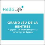 Tirage au sort Hello Life : Weekend en Europe pour 2 personnes à Gagner - anti-crise.fr