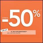 Code Promo Camaieu : 20 % supplémentaires - anti-crise.fr