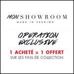 Code Promo Mon Showroom : 1 Acheté = 1 Offert - anti-crise.fr