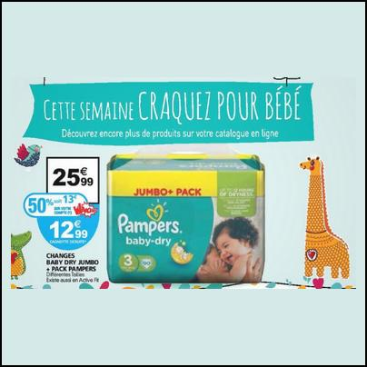 Bon Plan Pampers : Le Pack de Jumbo+ à 9,99 € - anti-crise.fr