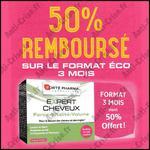 Offre de Remboursement Forté Pharma : 50 % remboursé sur Expert Cheveux - anti-crise.fr