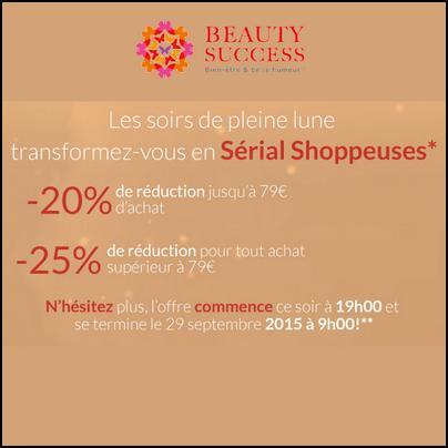 Code Promo Beauty Success : Jusqu'à - 25 %  sur toute votre commande - anti-crise.fr