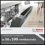 Offre de Remboursement Bosch