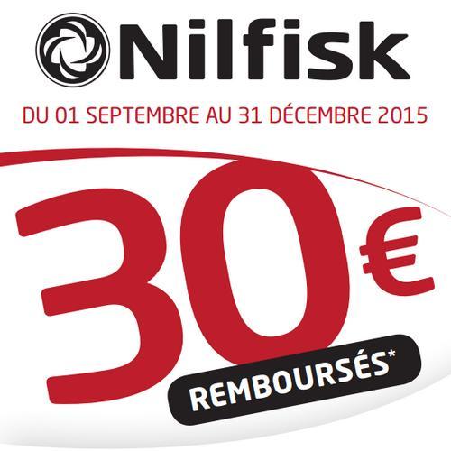 Offre de Remboursement Nilsfisk