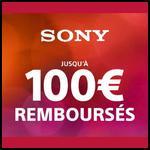 Offre de Remboursement Sony