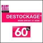 Bon Plan Tati : Jusqu'à - 60 % Destockage - anti-crise.fr