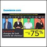 Bon Plan Excedence : Jusqu'à - 75 % sur la mode Homme - anti-crise.fr