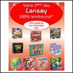 Offre de Remboursement Lansay : 2ème Jeu 100% Remboursé - anti-crise.fr