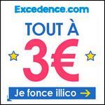 Bon Plan Excedence : Tout à 3 € - anti-crise.fr
