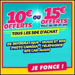 Bon Plan Cdiscount : 10 € ou 15 € Offerts tous les 50 € d'achat - anti-crise.fr