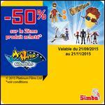 Offre de Remboursement Smoby : 50 % sur le 2ème produit Matt Hatter de Simba - anti-crise.fr