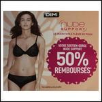 Offre de Remboursement Dim : Soutien-Gorge Nude Support 50 % Remboursé - anti-crise.fr