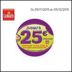 Offre de Remboursement Goliath : Jusqu'à 25 € sur les produits Let's Cook - anti-crise.fr