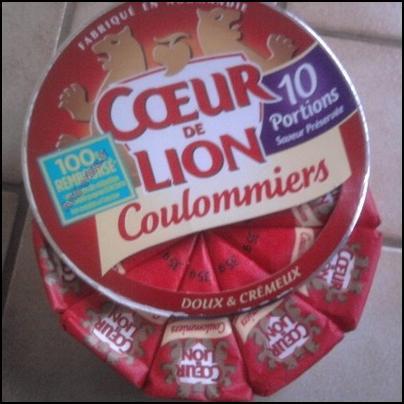 Offre de Remboursement Coeur de Lion : Camembert Coulommiers 100 % Remboursé en Bons - anti-crise.fr